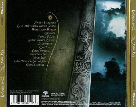 Evanescence Open Door by The Open Door Evanescence Evanescence The Open Door