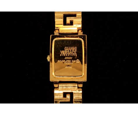 Harga Jam Gianni Versace 1 gianni versace signature gold plated with