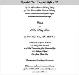 Spanish Wedding Invitations Spanish Wedding Invitation Wording Theruntime Com