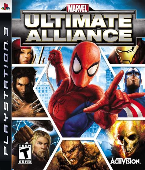 Bd Ps3 Kaset Marvel Ultimate Alliance marvel ultimate alliance box for playstation 3 gamefaqs
