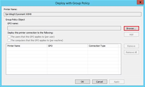 how to printers via policy gpo the solving