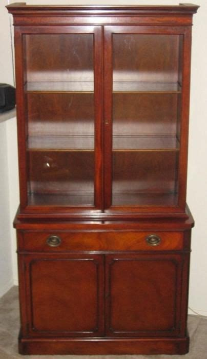 small china cabinet hutch small china hutch 1950 drexel china hutch and cabinet