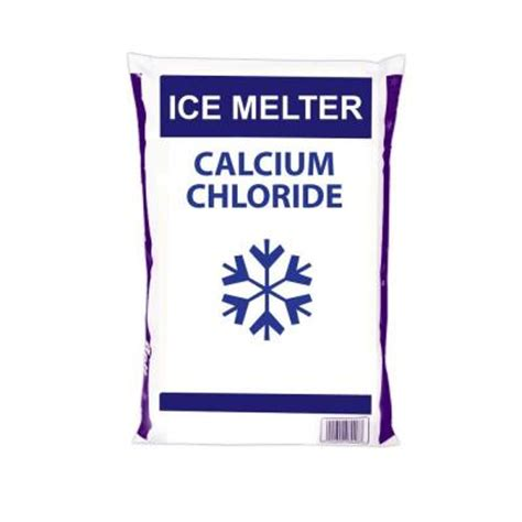 50 lb calcium chloride flakes 489815 the home depot