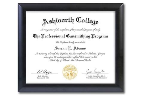 design your own diploma top rated online gunsmithing schools gungods