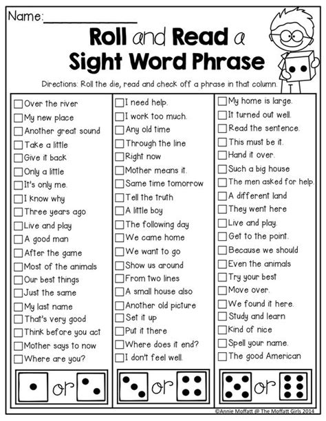 read site sight words 2nd grades and words on