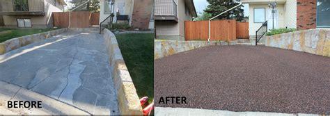 Rubber Driveway Rs Edmonton by Bring Black Back To The Garage Door Renovationfind