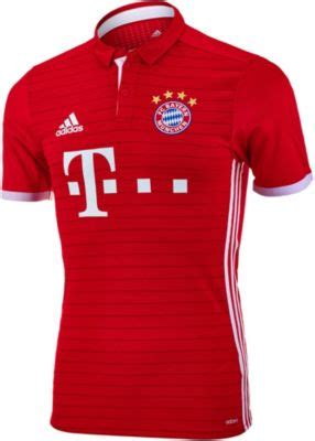 adidas bayern munich authentic home jersey 2016 bayern