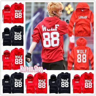 Exo Sweater Chanyeol Ar rebajas moda sudadera exo quot wolf quot tipo 2 korean shop