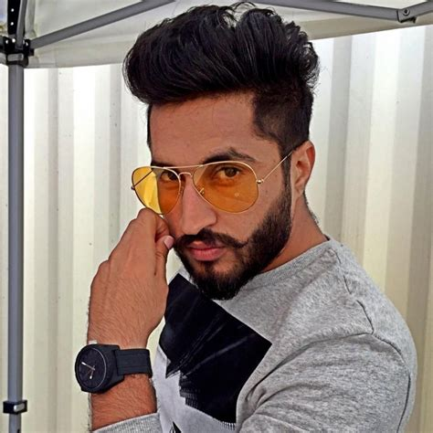 hairstyle of jassi gill punjabi boys hair style with shaving hairstyle hits pictures