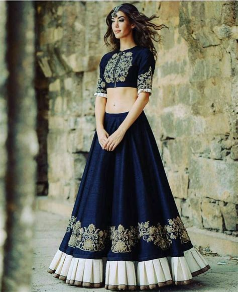 lehenga dress design 660 best crop top with indian skirt images on pinterest