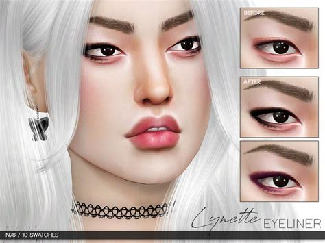 mod the sims acute eyeliner 10 styles 35 best sims4 makeup images on pinterest makeup sims