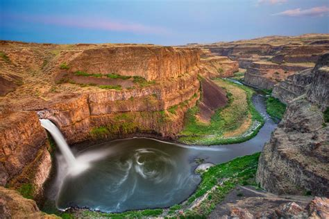 Most Scenic Places In Usa palouse falls washington beautiful places best places