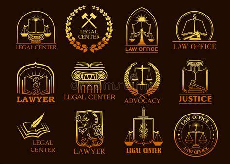 imagenes de simbolos juridicos 205 cones jur 237 dicos legais do ouro do vetor do centro ou do