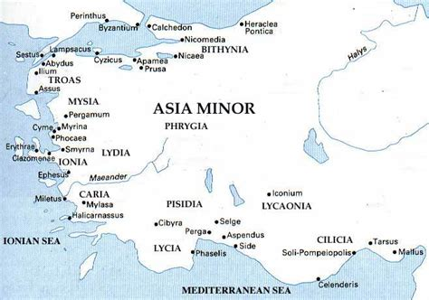 asia minor map mildred baena asia minor map