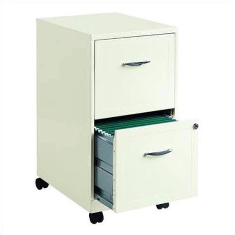 hirsh industries 2 drawer steel file cabinet in white