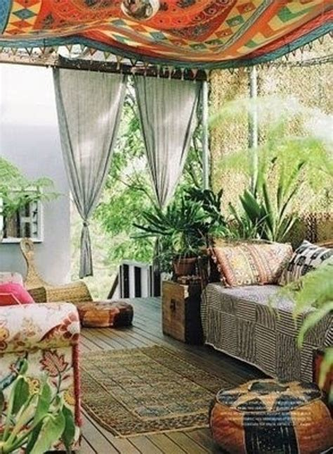 bohemian room bottled creativity 37 beautiful bohemian patio designs digsdigs