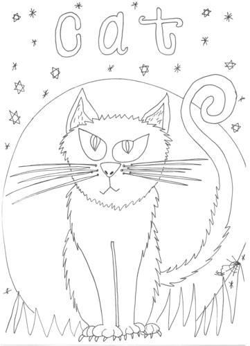 halloween alphabet coloring pages oceans project teaching resources tes