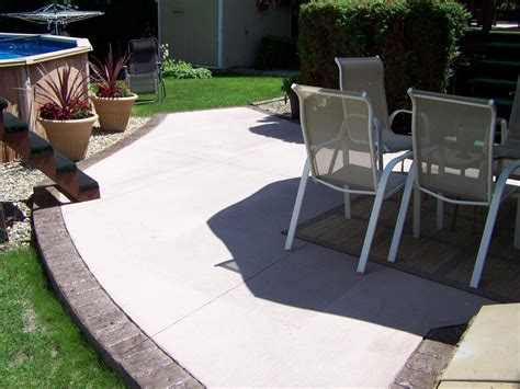 Concrete Patio Designs Layouts Gs Flatwork Llc Decorative Concrete Patios