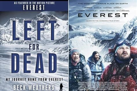 film everest beck weathers 1 left for dead by beck weathers movie title everest