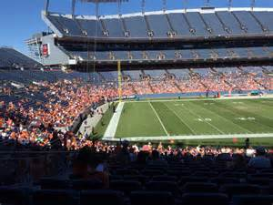 section ten sports sports authority field section 127 rateyourseats com