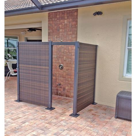 the versare configurable wicker partition system allows you to build any kind of outdoor setup