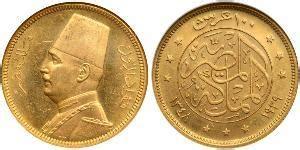 regno ottomano moneta 500 piastre impero ottomano 1299 1923 oro 1911
