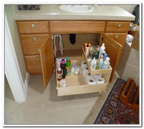 bathroom sink organizer ideas 1000 ideas about sink storage on