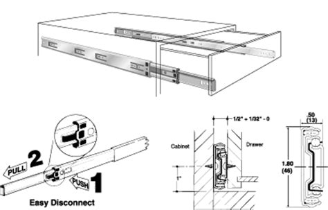 kv drawer slides installation kv full extension slides kv full extension ball bearing