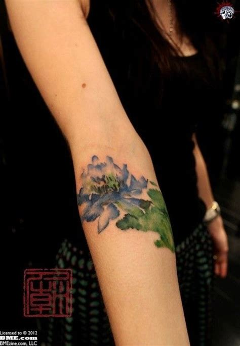 watercolor tattoo sydney ah so gorgeous this style flower watercolor