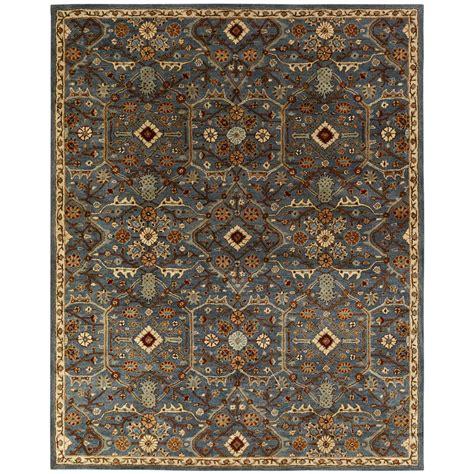 10 X 12 Area Rug Blue Slate - kalaty empire slate blue 9 ft x 12 ft area rug em 297