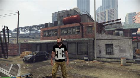 Mod Baju Dc Gta Sa dc shirt for trevor gta5 mods
