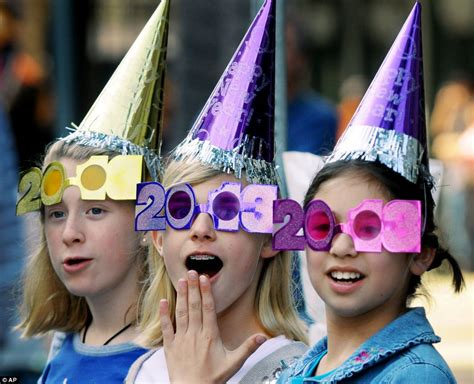 wearing on new year happy new year spectacular pictures show countries across