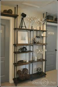 Copper Pipe Bookshelf Remodelaholic Build A Budget Friendly Industrial Shelf