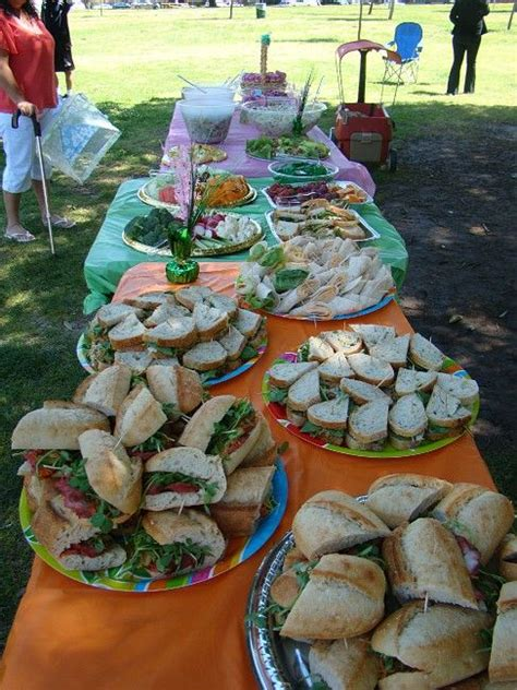 birthday catering ideas birthday catering at the park birthday