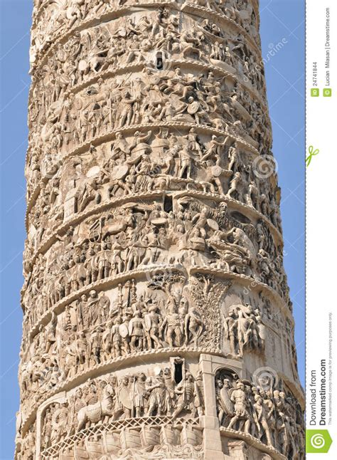Architectural Plans by Trajan S Column Rome Stock Images Image 24741844