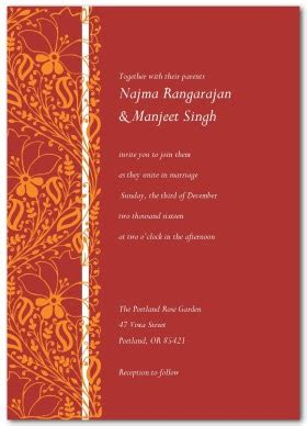 hindu wedding invitation free indian wedding invitation template shaadi