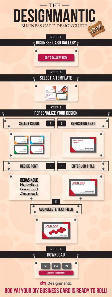 site designmantic a business card guide designmantic the design shop