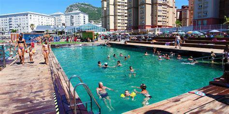 floating boat gibraltar swimming arenas marinetek