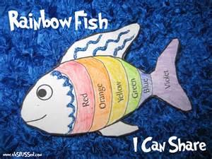 Rainbow Fish Activities The rainbow fish printables