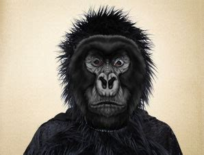 printable gorilla mask free masks for school plays and great school play costume ideas