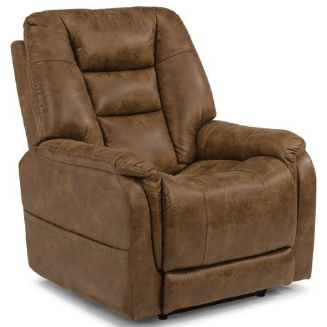 power recliners flexsteel latitudes theo casual power recliner with power