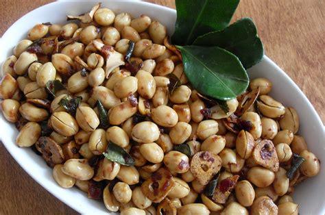 kacang tanah kupas ari oven 1kg resep masakan indonesia resep kacang panggang daun jeruk