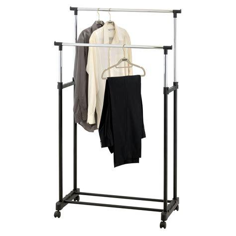 clothes rail portable hanging garment w shoe rack