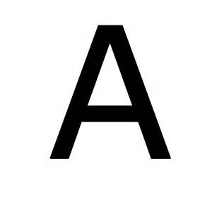 Letter A Letter A Png