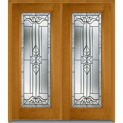 mmi door 74 in x 81 75 in classic clear glass 1 lite mmi door 74 in x 81 75 in cadence decorative glass full