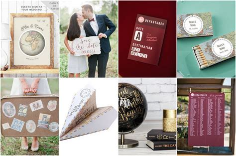 20 Top Travel Themed Wedding Ideas   Affordable   Stealworthy!