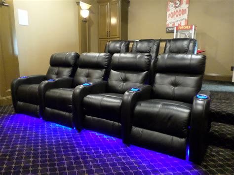 movie room recliners home theaters mccabe s theater and living