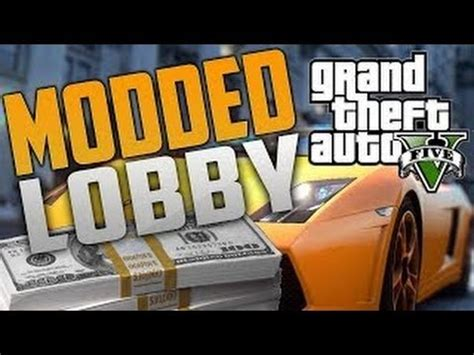 mod gta 5 lobby quot gta online free unlimited money rp mod lobby quot after 1