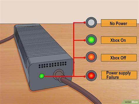 xbox 360 power brick red light comment r 233 parer une xbox 360 qui ne s allume pas