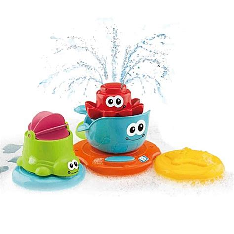 bathtub fountain toy buy b kids 174 spray n play toy fountain from bed bath beyond